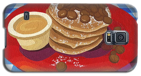 Pancakes Week 4 Galaxy S5 Case by Meg Shearer