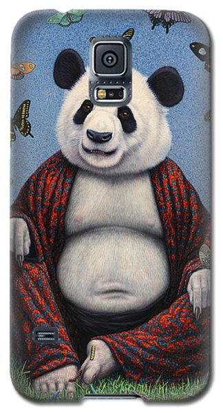 Panda Buddha Galaxy S5 Case by James W Johnson