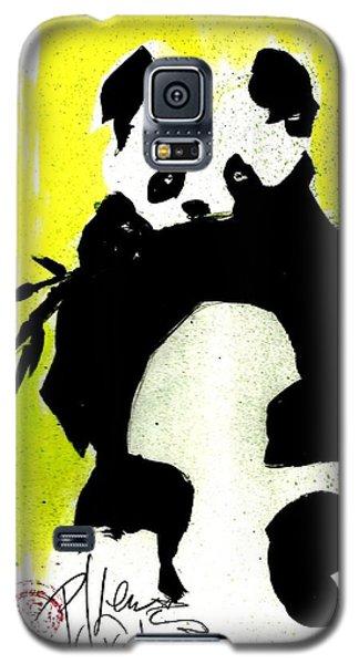 Panda Haiku Galaxy S5 Case by P J Lewis