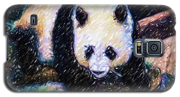 Panda In The Rest Galaxy S5 Case by Lanjee Chee
