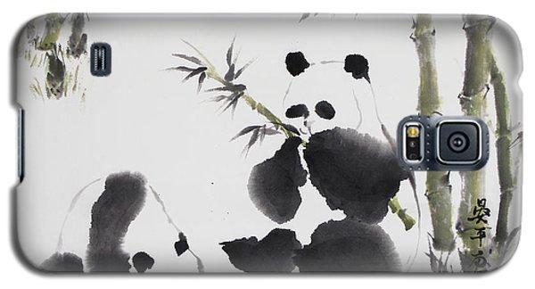 Panda  Galaxy S5 Case by Ping Yan