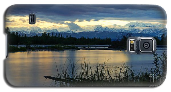 Pano Denali Midnight Sunset Galaxy S5 Case by Jennifer White