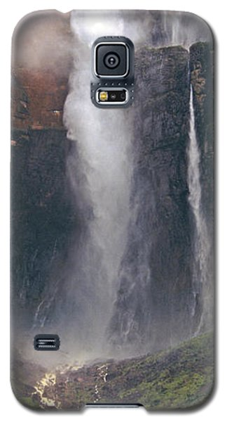 Panorama Angel Falls In Canaima National Park Venezuela Galaxy S5 Case