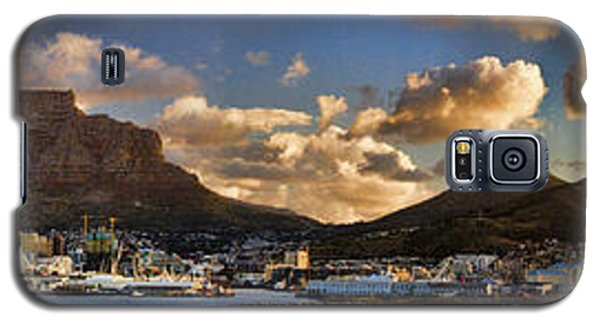 Panorama Cape Town Harbour At Sunset Galaxy S5 Case