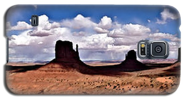 Panorama - Monument Valley Park Galaxy S5 Case