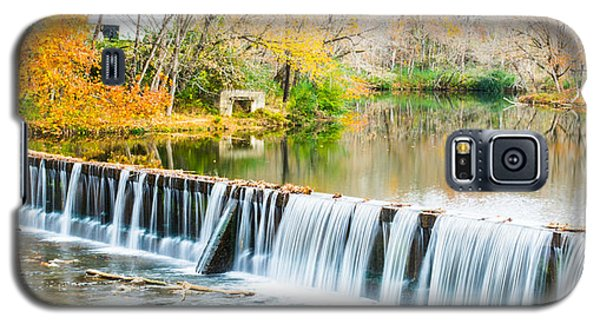 Panorama Of Buck Creek In Autumn Galaxy S5 Case