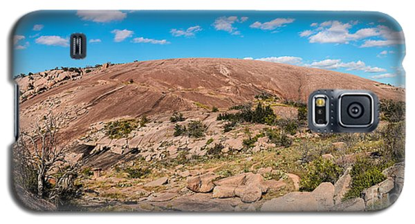 Panorama Of Enchanted Rock State Natural Area - Fredericksburg Texas Hill Country Galaxy S5 Case
