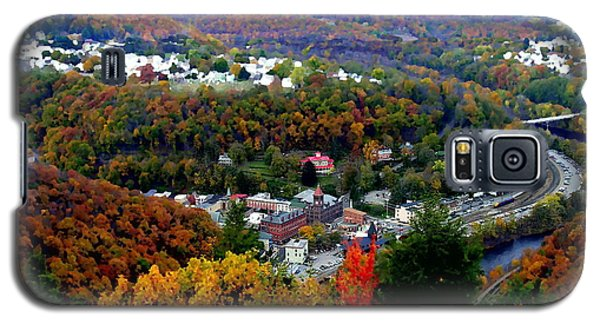 Panorama Of Jim Thorpe Pa Switzerland Of America - Abstracted Foliage Galaxy S5 Case
