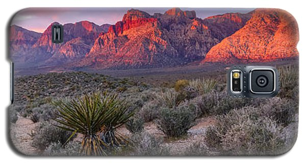Panorama Of Rainbow Wilderness Red Rock Canyon - Las Vegas Nevada Galaxy S5 Case