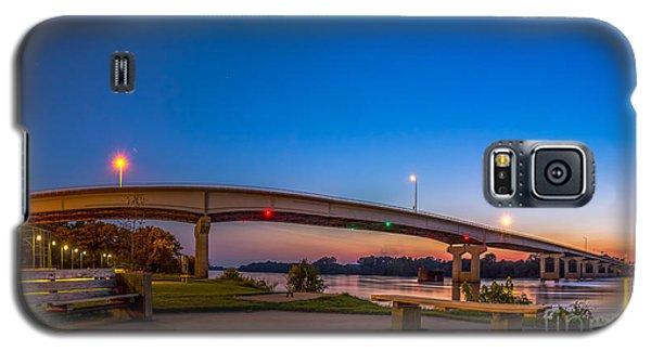 Panorama Of The Garrison Ave. Bridge  Galaxy S5 Case