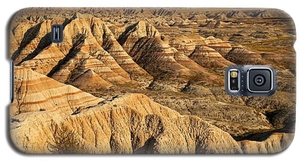 Panorama Point Badlands National Park Galaxy S5 Case