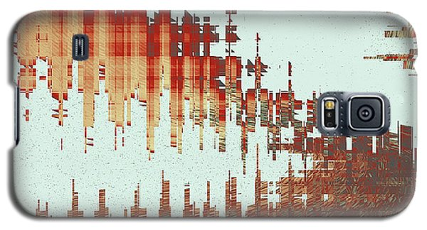 Panoramic City Reflection Galaxy S5 Case