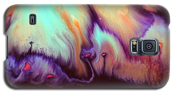 Panoramic Colorful Abstract Vibrant World By Kredart Galaxy S5 Case