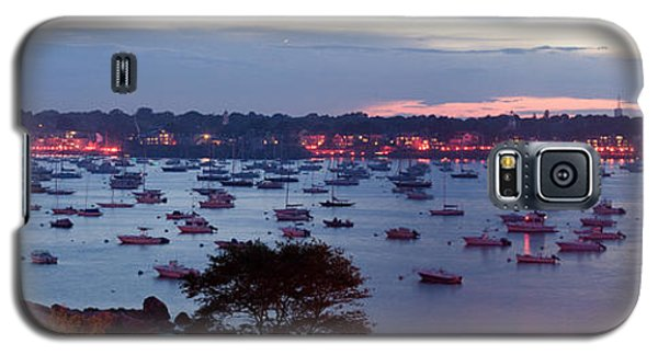 Panoramic Of The Marblehead Illumination Galaxy S5 Case by Jeff Folger