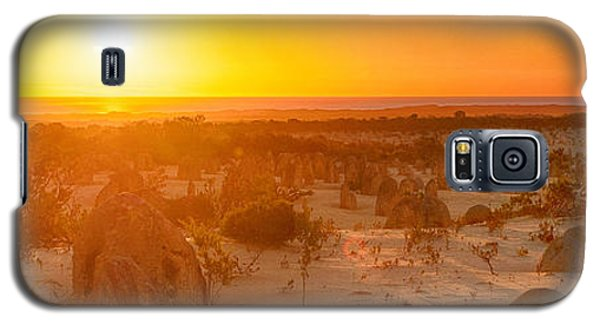 Panoramic Photo Of Sunset At The Pinnacles Galaxy S5 Case