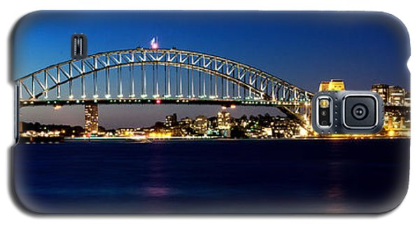Panoramic Photo Of Sydney Night Scenery Galaxy S5 Case