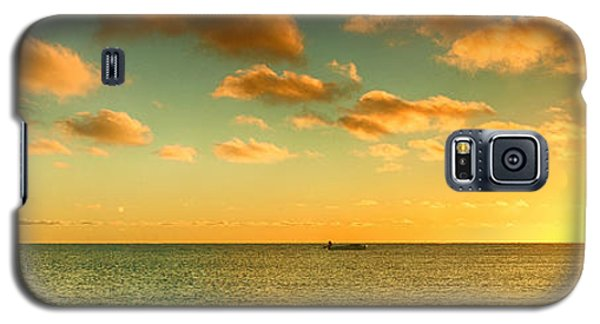 Panoramic Photo Sunrise At Monky Mia Galaxy S5 Case