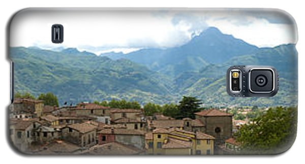 Panoramic View Barga And Apennines Italy Galaxy S5 Case