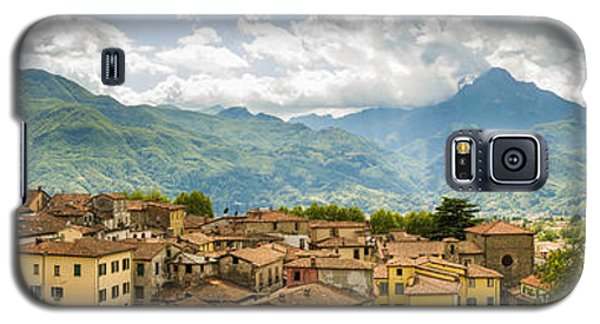 Panoramic View From Barga In Italy Of The Appeninies Galaxy S5 Case