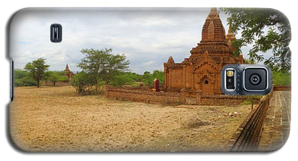 Galaxy S5 Case featuring the photograph Panoramic View Next To Dhammayazika Pagoda Built In 1196 By King Narapatisithu by Ralph A  Ledergerber-Photography