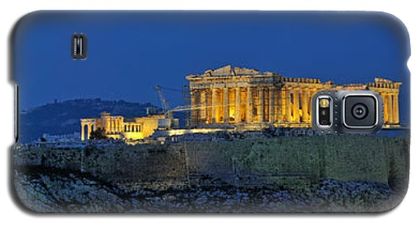 Panoramic View Of Acropolis Of Athens Galaxy S5 Case