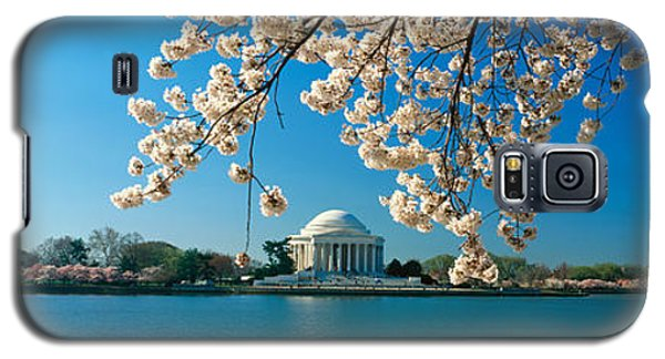 Panoramic View Of Jefferson Memorial Galaxy S5 Case by Panoramic Images