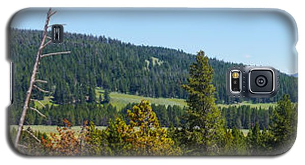 Panoramic Yellowstone Landscape Galaxy S5 Case