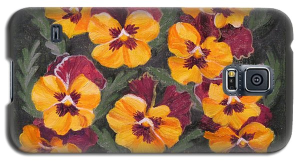Pansies Are For Thoughts Galaxy S5 Case