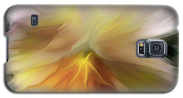 Pansy Art Galaxy S5 Case