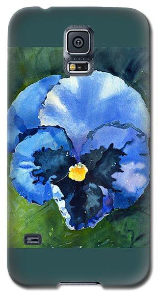 Pansy Blue Galaxy S5 Case