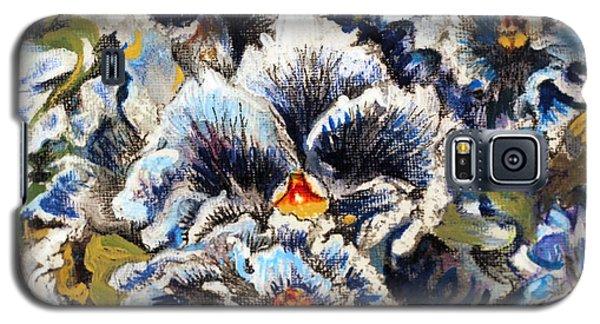Pansy Patterns Galaxy S5 Case