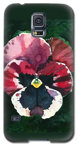 Pansy Red Galaxy S5 Case