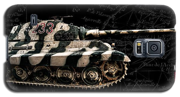 Panzer Tiger II Side Bk Bg Galaxy S5 Case