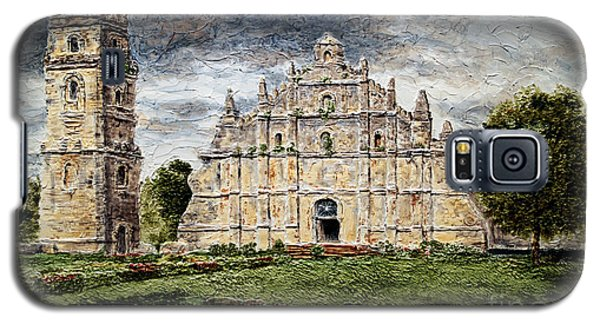 Paoay Church Galaxy S5 Case by Joey Agbayani