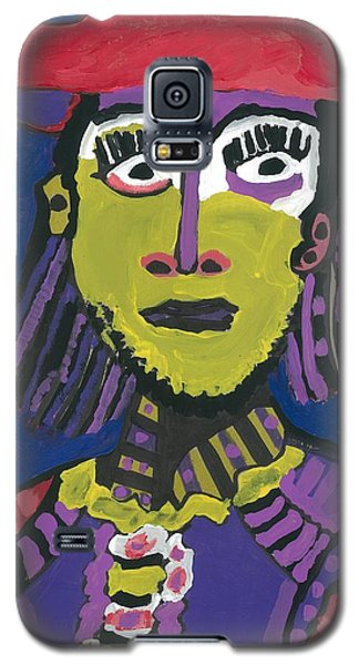 Galaxy S5 Case featuring the painting Papal Guard by Don Koester