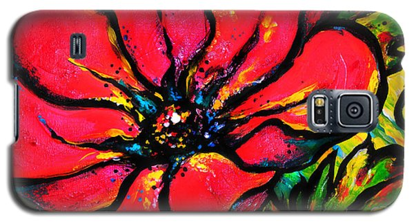Poppy I Galaxy S5 Case