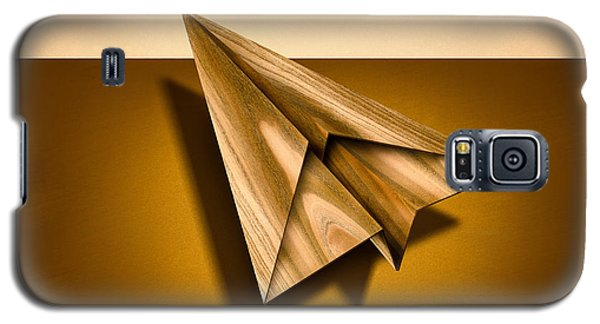 Paper Airplanes Of Wood 1 Galaxy S5 Case
