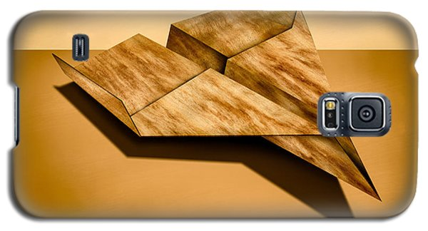 Paper Airplanes Of Wood 5 Galaxy S5 Case