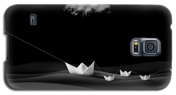Dove Galaxy S5 Case - Paper Boats by Sulaiman Almawash