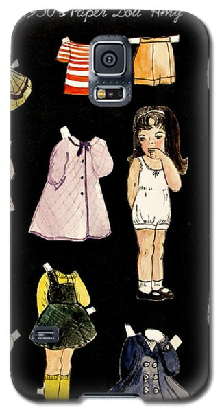 Paper Doll Amy Galaxy S5 Case