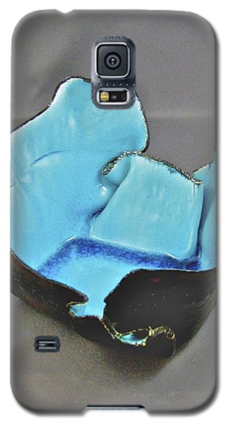 Galaxy S5 Case featuring the sculpture Paper-thin Bowl  09-001 by Mario Perron