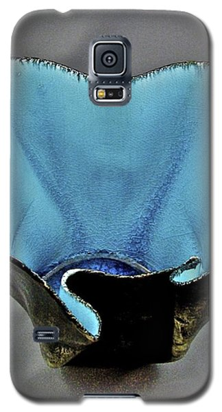 Galaxy S5 Case featuring the sculpture Paper-thin Bowl  09-002 by Mario Perron