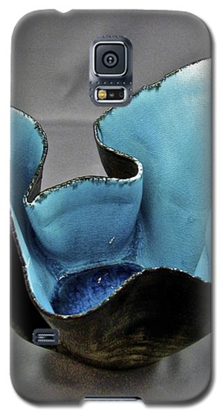 Galaxy S5 Case featuring the sculpture Paper-thin Bowl  09-003 by Mario Perron