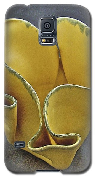Galaxy S5 Case featuring the sculpture Paper-thin Bowl  09-004 by Mario Perron