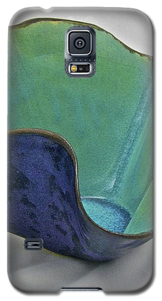 Galaxy S5 Case featuring the sculpture Paper-thin Bowl  09-006 by Mario Perron