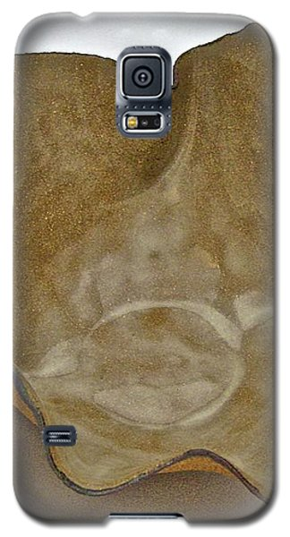 Galaxy S5 Case featuring the sculpture Paper-thin Bowl  09-010 by Mario Perron