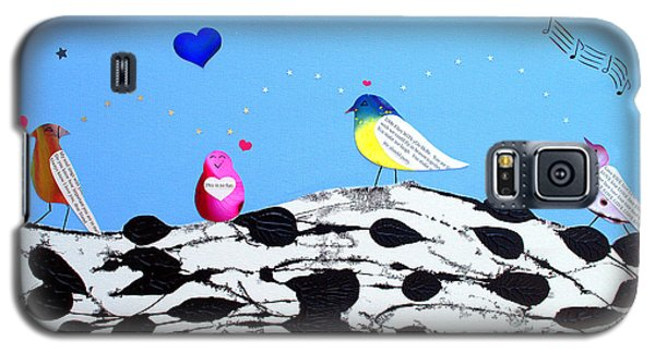 Paperbirch Friends Galaxy S5 Case