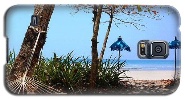 Paradise Beach Galaxy S5 Case by Julia Ivanovna Willhite