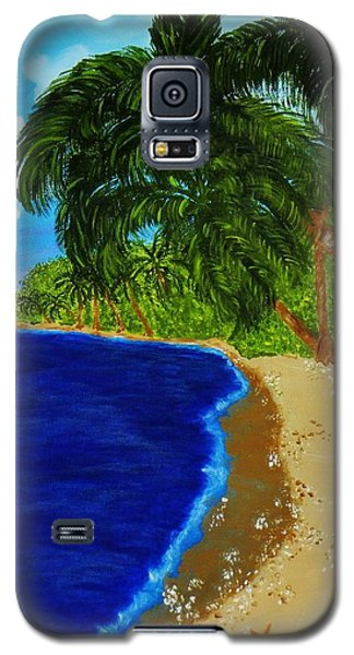 Paradise Galaxy S5 Case by Celeste Manning