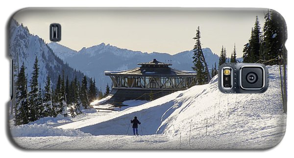 Galaxy S5 Case featuring the photograph Paradise Found And Lost - Mt. Rainier by Jane Eleanor Nicholas
